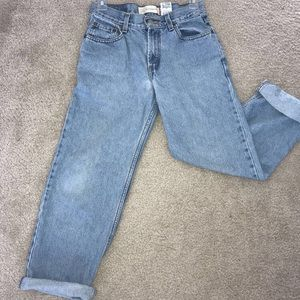 Levi's Jeans - Vintage Levi jeans light wash 550 Relaxed 14r